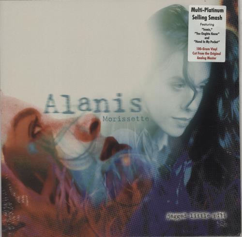 Alanis Morissette Jagged Little Pill - Sealed vinyl LP album (LP record) UK ANSLPJA764800