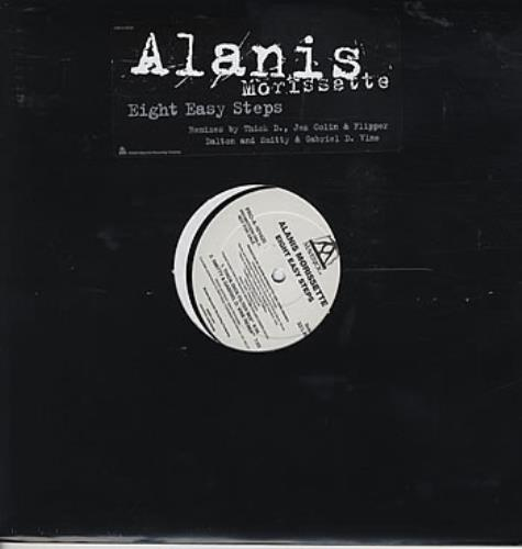 "Alanis Morissette Eight Easy Steps 12"" vinyl single (12 inch record / Maxi-single) US ANS12EI305800"