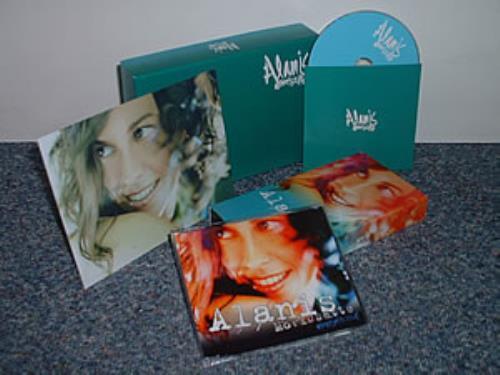 Alanis Morissette Everything CD Single Box Set UK ANSCXEV283931