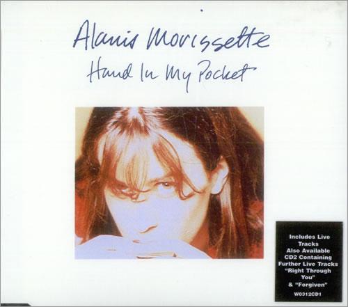 """Alanis Morissette Hand In My Pocket - C.D.1 CD single (CD5 / 5"""") UK ANSC5HA54620"""