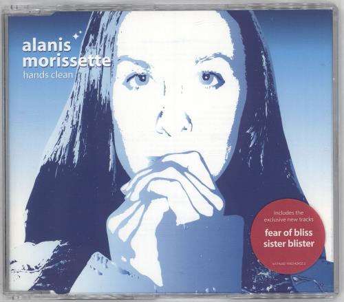 Alanis Morissette Hands Clean - CDs 1 & 2 2-CD single set (Double CD single) UK ANS2SHA206716