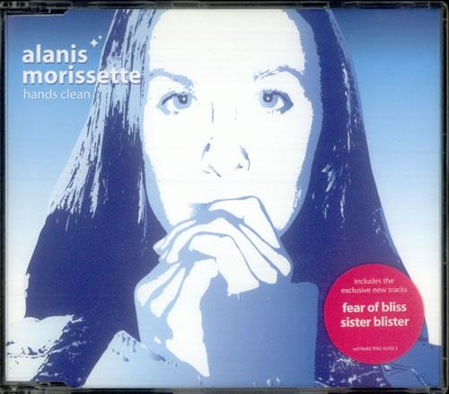 """Alanis Morissette Hands Clean CD single (CD5 / 5"""") UK ANSC5HA536948"""
