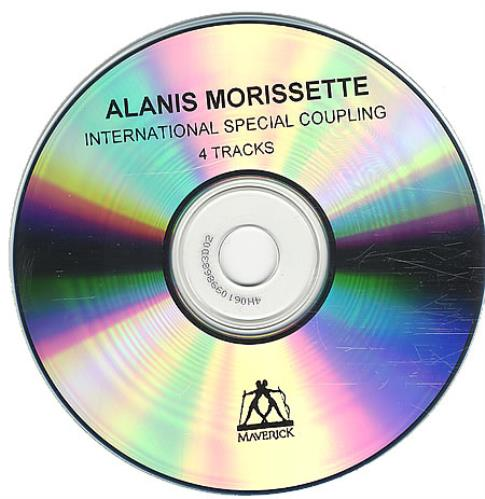 Alanis Morissette International Special Coupling CD-R acetate UK ANSCRIN148637
