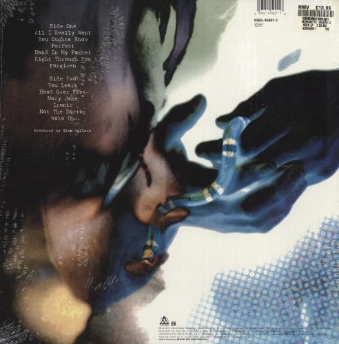Alanis Morissette Jagged Little Pill - Sealed vinyl LP album (LP record) German ANSLPJA701907