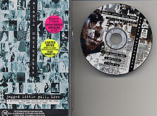 Alanis Morissette Jagged Little Pill Live video (VHS or PAL or NTSC) Australian ANSVIJA93493