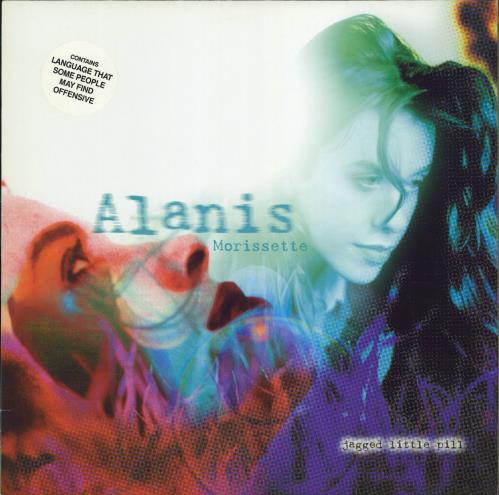 Alanis Morissette Jagged Little Pill vinyl LP album (LP record) German ANSLPJA123903