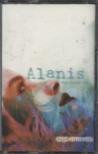 Alanis Morissette Jagged Little Pill cassette album UK ANSCLJA709944