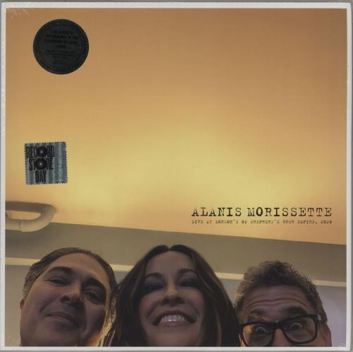 Alanis Morissette Live at London's O2 Shepherd's Bush Empire - RSD 2020 - Sealed vinyl LP album (LP record) UK ANSLPLI757382