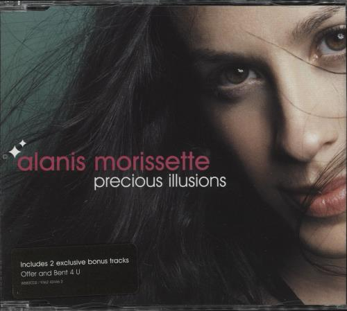 Alanis Morissette Precious Illusions - Both CDs 2-CD single set (Double CD single) UK ANS2SPR219819