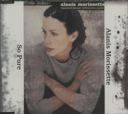 """Alanis Morissette So Pure CD single (CD5 / 5"""") Japanese ANSC5SO133975"""