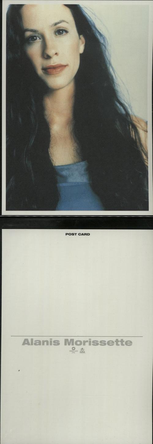 Alanis Morissette Supposed Former Infatuation Junkie - Nine Postcards memorabilia Japanese ANSMMSU640275