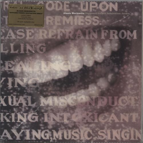 Alanis Morissette Supposed Former Infatuation Junkie 2-LP vinyl record set (Double Album) Dutch ANS2LSU764127