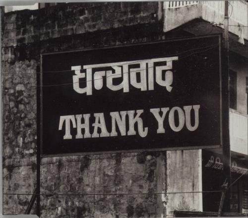 "Alanis Morissette Thank You CD single (CD5 / 5"") German ANSC5TH122600"