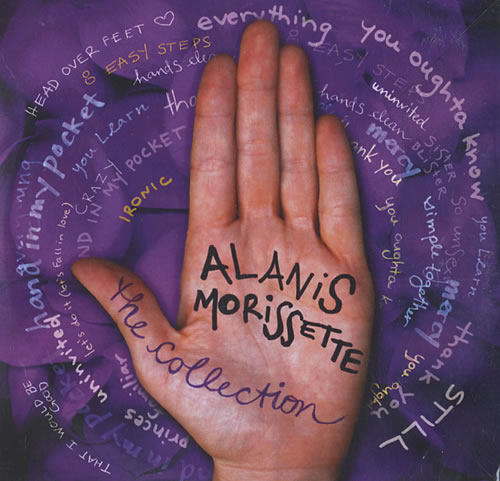 Alanis Morissette The Collection CD-R acetate UK ANSCRTH438855
