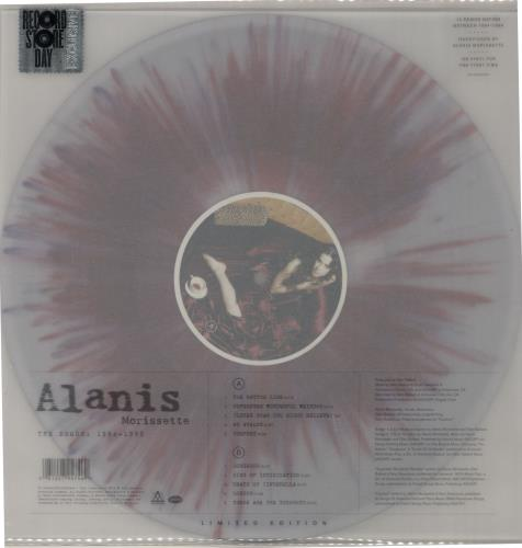 Alanis Morissette The Demos: 1994 - 1998 vinyl LP album (LP record) UK ANSLPTH652322