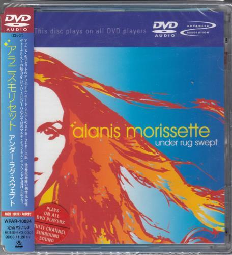 Alanis Morissette Under Rug Swept DVD-Audio disc Japanese ANSADUN709796