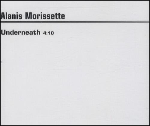 "Alanis Morissette Underneath CD single (CD5 / 5"") UK ANSC5UN436362"