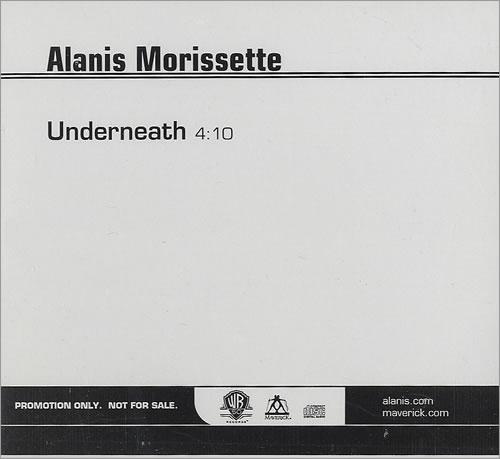 """Alanis Morissette Underneath CD single (CD5 / 5"""") US ANSC5UN436968"""