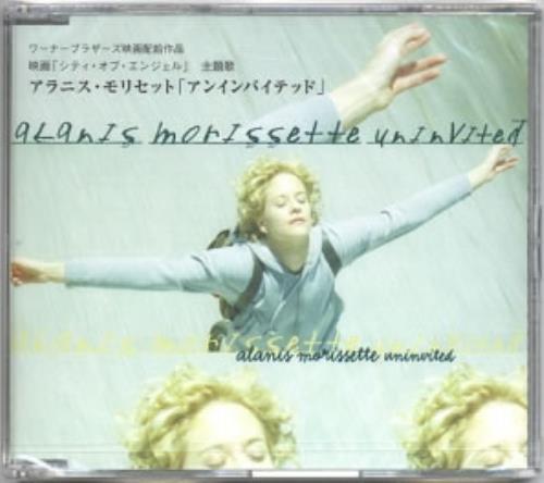 """Alanis Morissette Uninvited CD single (CD5 / 5"""") Japanese ANSC5UN135911"""