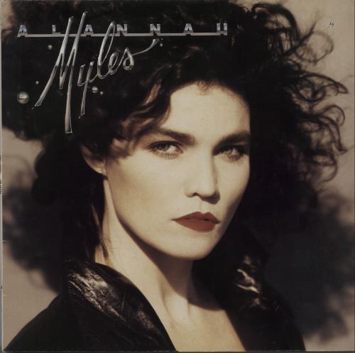 Alannah Myles Alannah Myles vinyl LP album (LP record) Canadian ALNLPAL664060