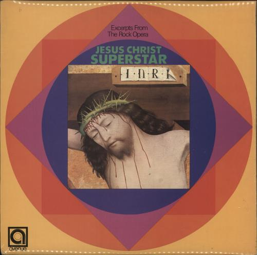"Alan Caddy Excerpts From The Rock Opera ""Jesus Christ Superstar"" vinyl LP album (LP record) UK 0L4LPEX732960"