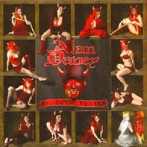 Alan Davey Eclectic Devils CD album (CDLP) UK AV9CDEC491872