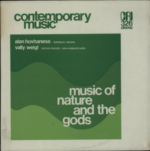 Alan Hovhaness Music Of Nature And The Gods - Sealed vinyl LP album (LP record) US G2BLPMU624634