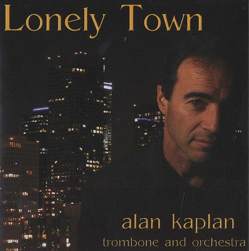 Alan Kaplan Lonely Town CD album (CDLP) US AQQCDLO490906