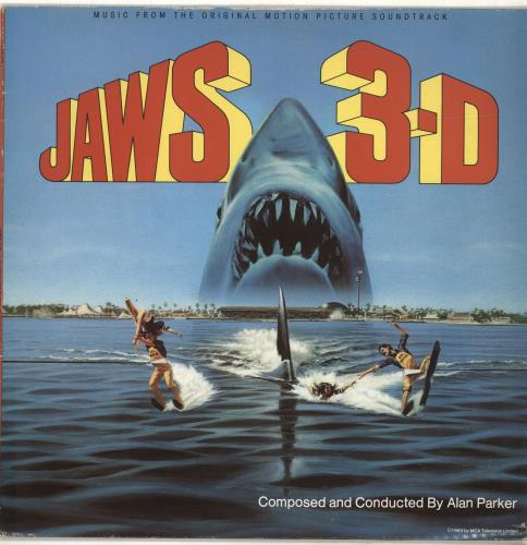 Alan Parker Jaws 3-D vinyl LP album (LP record) UK 8APLPJA692997