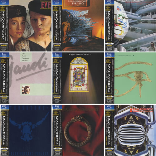 Alan Parsons Project I Robot To Gaudi Card Sleeve