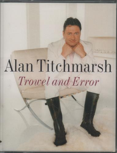 Alan Titchmarsh Trowel And Error - Sealed Double Cassette UK 3AT2KTR677981