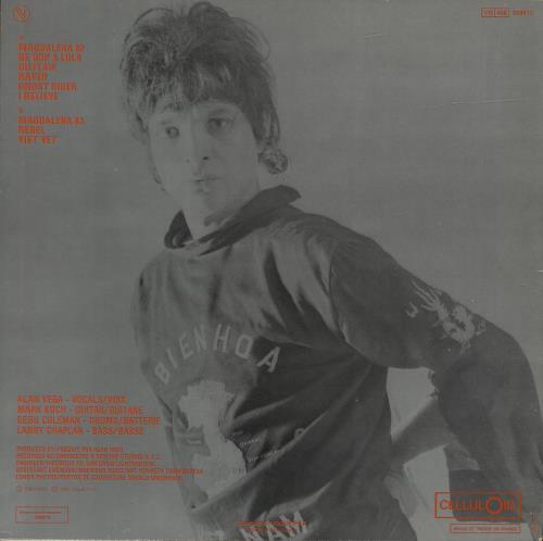 Alan Vega Collision Drive vinyl LP album (LP record) French AVGLPCO444641