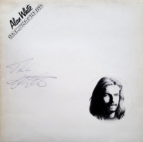 Alan White Ramshackled - Autographed vinyl LP album (LP record) UK AWHLPRA700943