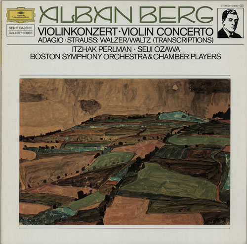 Alban Berg Violin Concerto vinyl LP album (LP record) German A5ZLPVI639753