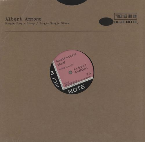 "Albert Ammons Boogie Woogie Stomp / Boogie Woogie Blues 12"" vinyl single (12 inch record / Maxi-single) UK A\A12BO758763"