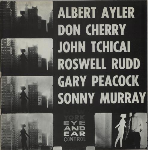 Albert Ayler New York Eye And Ear Control vinyl LP album (LP record) US AYLLPNE675258