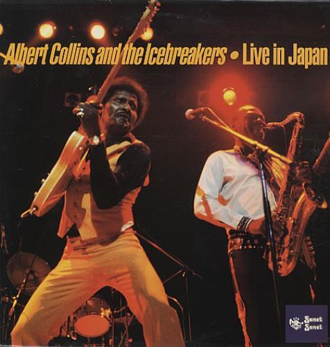 Albert Collins Live In Japan vinyl LP album (LP record) UK ACZLPLI337762