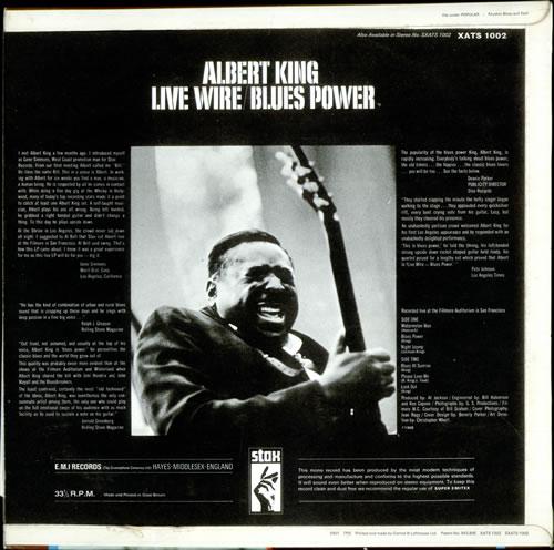 Albert King Live Wire / Blues Power - Factory Sample UK vinyl LP ...