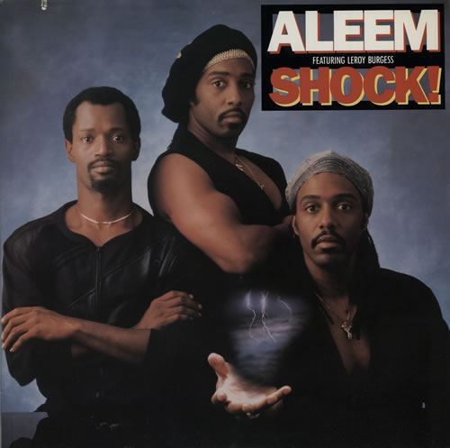 Aleem Shock! vinyl LP album (LP record) US A7RLPSH576405