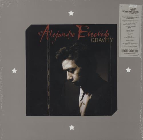 Alejandro Escovedo Gravity - RSD 2016 2-LP vinyl record set (Double Album) UK AJX2LGR755192
