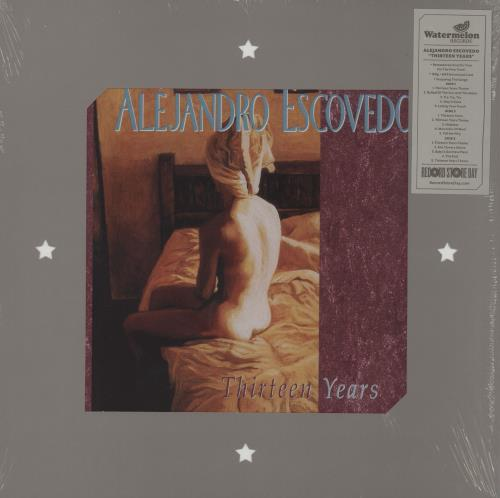 Alejandro Escovedo Thirteen Years - RSD 2016 2-LP vinyl record set (Double Album) UK AJX2LTH755191
