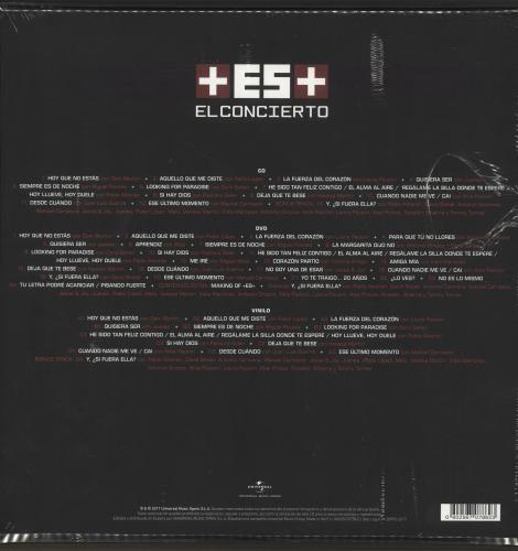 Alejandro Sanz +ES+ El Concierto - Deluxe Edition box set Spanish AJDBXES703791