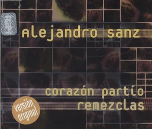 "Alejandro Sanz Corazon Partio Remezclas CD single (CD5 / 5"") Mexican AJDC5CO345533"