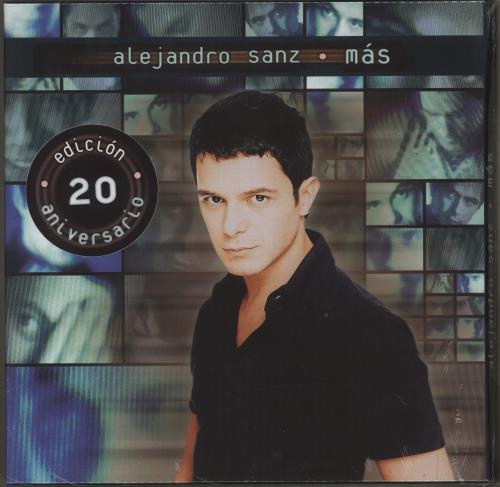 Alejandro Sanz Mas - 20th Anniversary Box - Sealed box set Spanish AJDBXMA710345