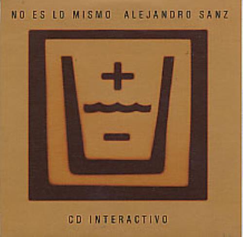 Alejandro Sanz No Es Lo Mismo CD-ROM Spanish AJDRONO271475