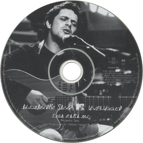 dvd alejandro sanz unplugged