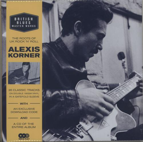 Alexis Korner British Blues Master Works - The Roots Of UK Rock 'N' Roll - 180gm 2-LP vinyl record set (Double Album) UK AXK2LBR666969