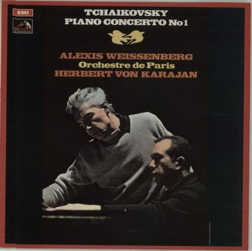 Alexis Weissenberg Tchaikovsky: Piano Concerto No. 1 in B Flat Minor, Op. 23 vinyl LP album (LP record) UK FQGLPTC675296