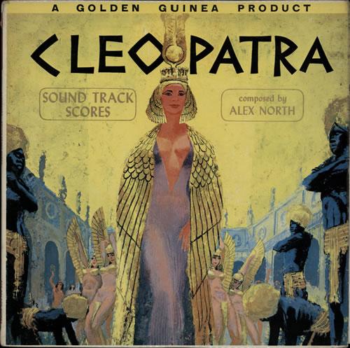 Alex North Cleopatra vinyl LP album (LP record) UK A8FLPCL584436