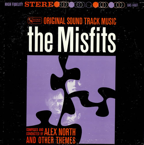 Alex North The Misfits vinyl LP album (LP record) US A8FLPTH477098
